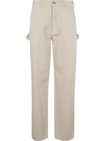 Maison Margiela Straight Leg Side Pocket Jeans