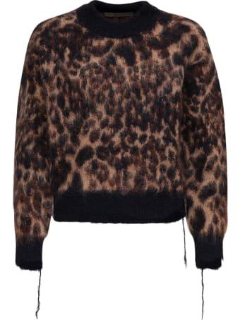 Jucca Animalier Mohair Blend Sweater