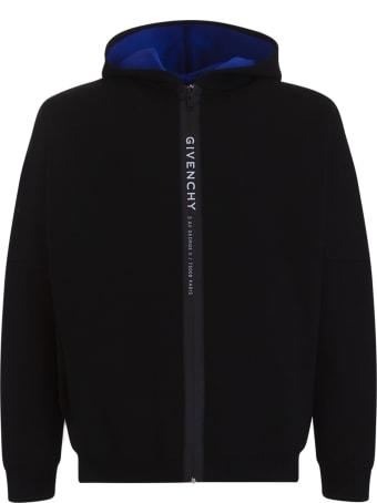 Givenchy Logo Zip Hooded Jacket