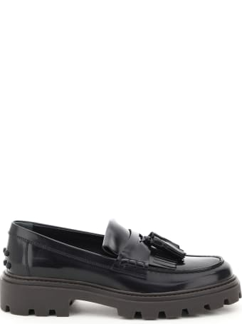 Tod's Loafers With Fringe And Tassels