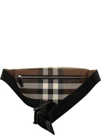 Burberry Cason - Check E-canvas Bum Bag