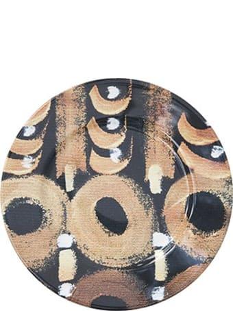 Le Botteghe su Gologone Plates Round Ceramic Colores 19 Cm