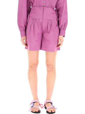 Isabel Marant Étoile Opala Cotton Shorts