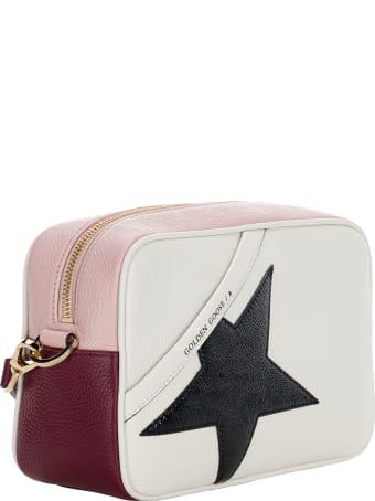 Golden Goose Leather Star Bag With Black Star