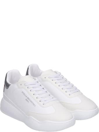 Stella McCartney Loop Alter Sneakers In White Synthetic Fibers