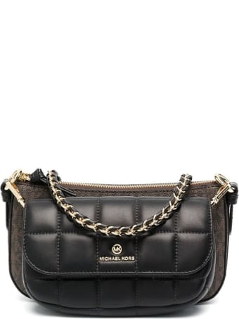 MICHAEL Michael Kors Jet Set Charm Md 4in1 Pouch Xbody In Mk Sig Semi Lux Md