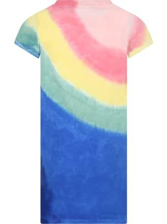 Ralph Lauren Multicolor Dress For Girl