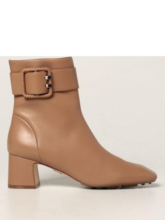 Rodo Flat Booties Rodo Ankle Boot In Calfskin