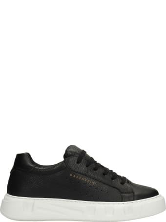 Gazzarrini Sneakers In Black Leather