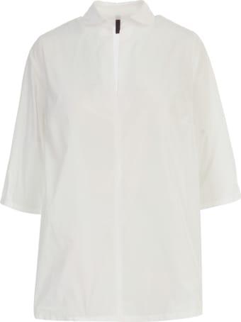 Katharina Hovman Oversized Open Neck 3/4s Shirt