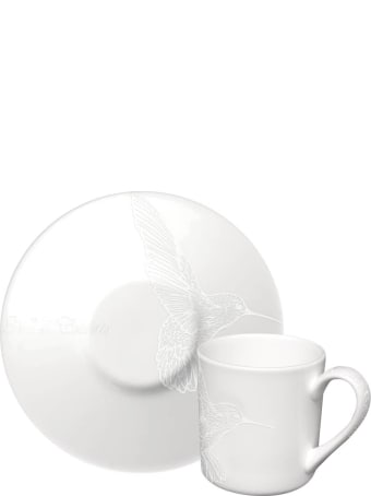 Taitù Set of 4 Espresso Cups & Saucers - Bianco&Bianco Collection