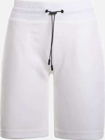 Colmar Cotton Blend Shorts With Holographic Logo