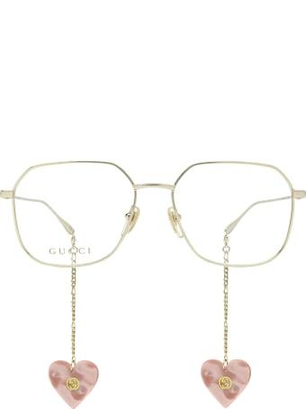 Gucci Gucci Gg1032o Gold Glasses