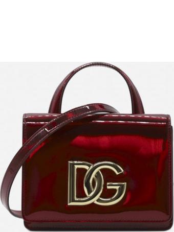 Dolce & Gabbana 3.5 Leather Handbag