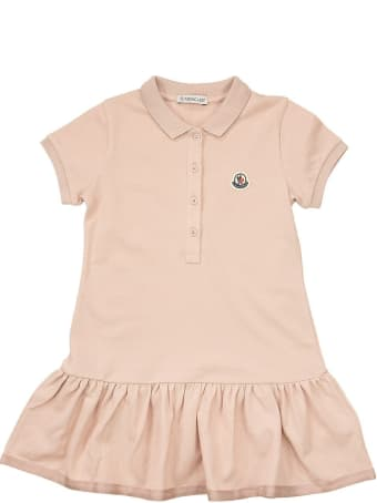 Moncler Polo Dress With Flounces