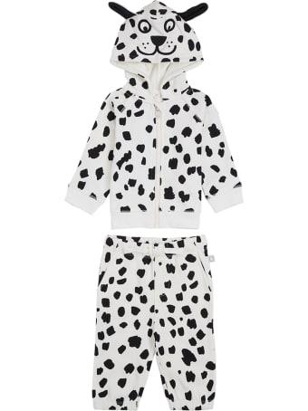Stella McCartney Kids Dalmatian Printed Cotton Suit