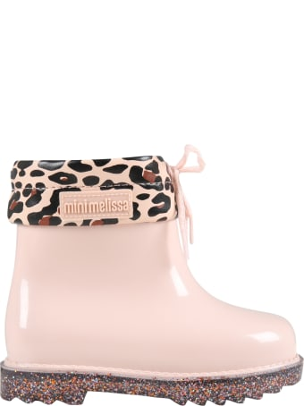 Melissa Pink Boots For Girl
