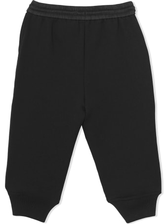 Burberry Black Cotton Track Pants