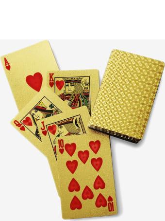 """Larusmiani Gold Plated Card Deck """"royale-les-eaux"""""""