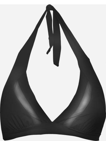Fisico - Cristina Ferrari Triangle Bikini With Mesh Inserts