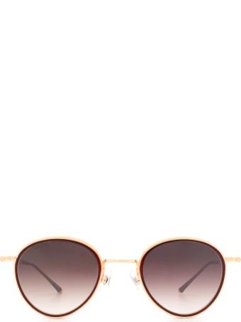Matsuda Matsuda M3070 Bordeaux / Rose Gold Sunglasses