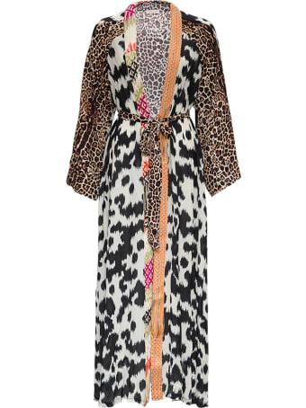 Anjuna Kimono Patchwork Dress