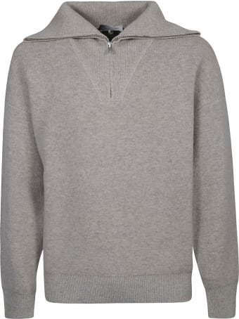 Isabel Marant Zipped Placket Sweater