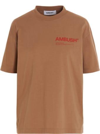 AMBUSH Logo 'workshop' T-shirt
