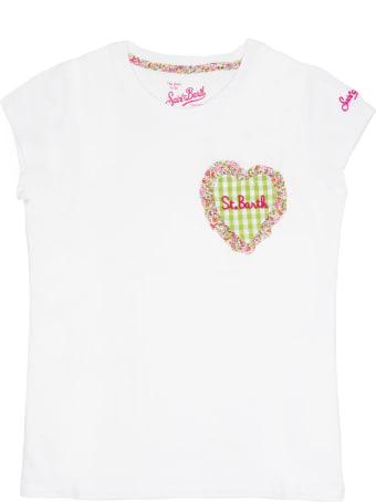 MC2 Saint Barth Heart  Girl's  T-shirt