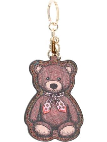 Etro Twister Toys Teddy Bear Keychain Charm