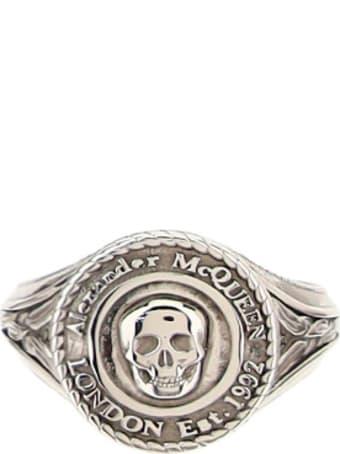 Alexander McQueen Alexander Mc Queen Medallion Ring