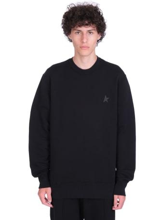 Golden Goose Archibald Sweatshirt In Black Cotton