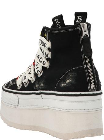 R13 'double Grommet Platform' Shoes