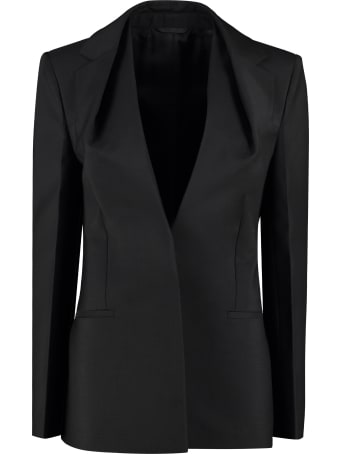 Givenchy Wool Blend Single-breasted Blazer