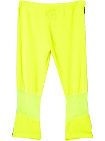 Diadora Fluo Yellow Trousers