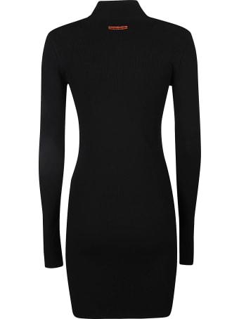 HERON PRESTON Turtleneck Knit Dress