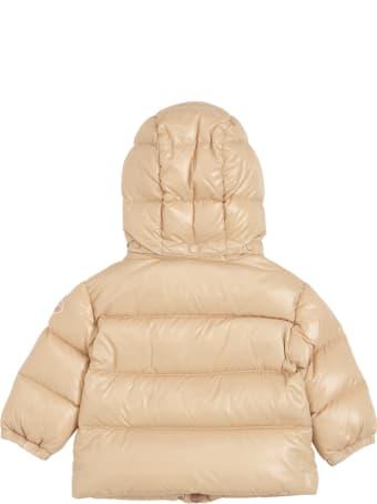 Moncler Selen Beige Nylon Down Jacket