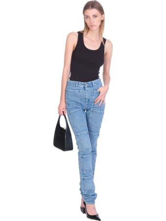 Lourdes Jeans In Blue Denim