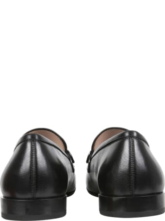 Salvatore Ferragamo Loafers With Logo And Hooks