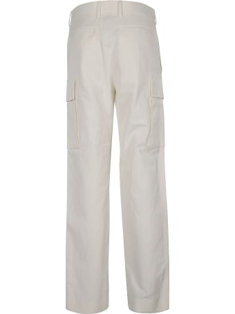 Stella McCartney Straight Leg Plain Cargo Pants