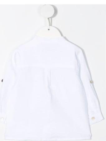 Tartine et Chocolat White Linen Shirt