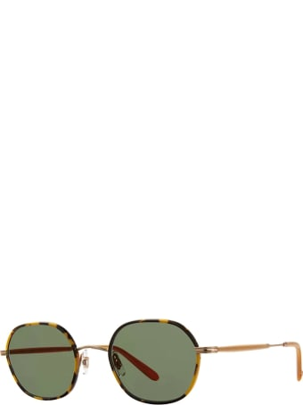 Garrett Leight Garrett Leight Norfolk Sun Tokyo Tortoise-matte Gold Sunglasses