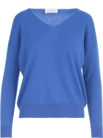 Anneclaire Cashmere V Neck L/s Sweater