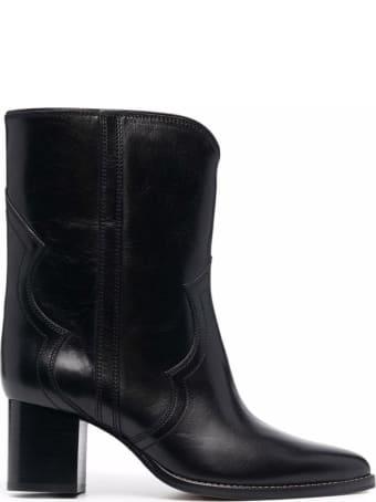 Isabel Marant Roree Black Leather Boots