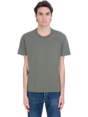 Mauro Grifoni T-shirt In Green Cotton