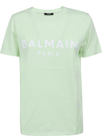 Balmain Classic Logo Printed T-shirt