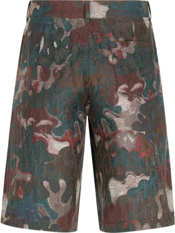 Dior Homme Shorts Camouflage
