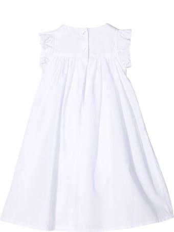 Sonia Rykiel White Flared Dress Enfant