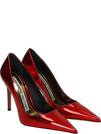 Alexandre Vauthier Pumps In Red Leather