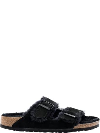 Birkenstock Arizona Shearling Suede Leather